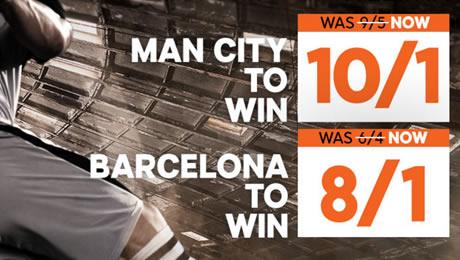 Man City v Barcelona, Ludogorets v Arsenal: Betting tips, enhanced odds and kick-off time