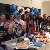 Coutinho and Lucas celebrate team-mate's 21st