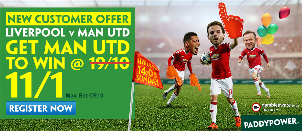 manchester united enhanced odds