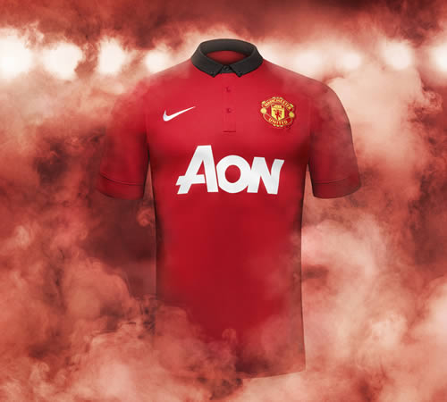 manchester united home shirt 2013-14