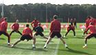 Man Utd train ahead of Wolfsburg clash - photos