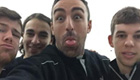 Photo: Jose Enrique reminds Man Utd fans that Liverpool are bigger club