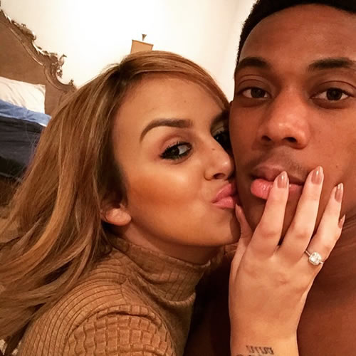 Image result for anthony martial wife