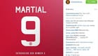 Man Utd confirm Martial will wear No9 shirt