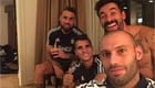 Photo: Ex-Liverpool man snaps bedtime selfie with Spurs star and Otamendi