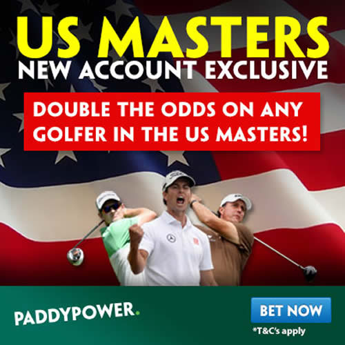 masters golf paddy power offer