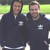 Mata and Herrera make fashion faux pas