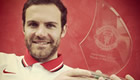Man Utd's Juan Mata congratulates Chelsea on title win