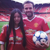 Mata all smiles in new Adidas kit