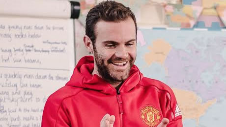 Juan Mata sends heartfelt message to Man United duo ahead of Man City clash