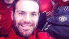 Photo: Juan Mata shares fans' Instagram photo from Old Trafford