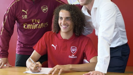 Photo: New Arsenal signing sends heartfelt message to supporters