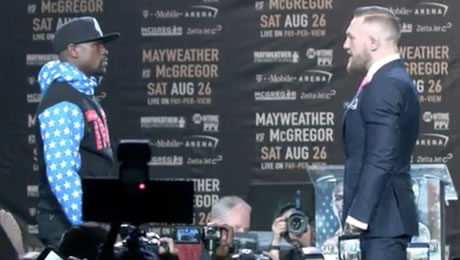 McGregor v Mayweather enhanced odds: 20/1 on Mayweather, fight time, prediction and betting tips