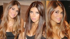 Photos: Cesc Fabregas and Lionel Messi's girlfriends are incredibly close
