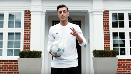 Take a tour of Arsenal star Mesut Ozil's £10m London house with us
