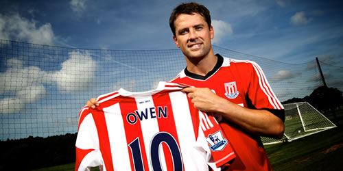 Image result for michael owen stoke city