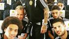 Photo: Nacer Chadli poses with Tottenham targets for Belgium snap