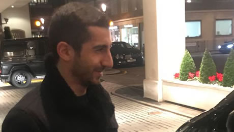 Photo: Confirmed Arsenal transfer target pictured in London ahead of move