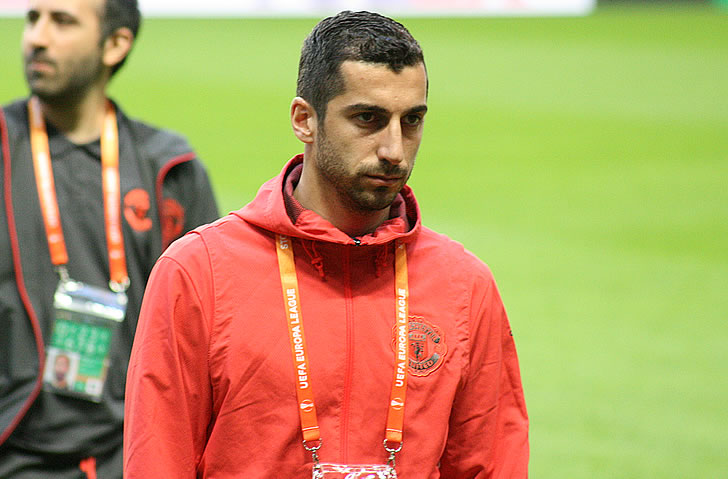 Henrikh Mkhitaryan states his prediction for CSKA Moscow v Man United