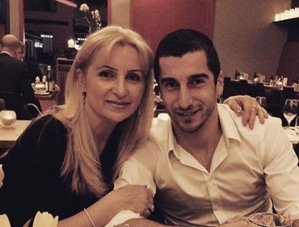 henrikh mkhitaryan mother