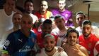 Monaco stars celebrate knocking out Arsenal