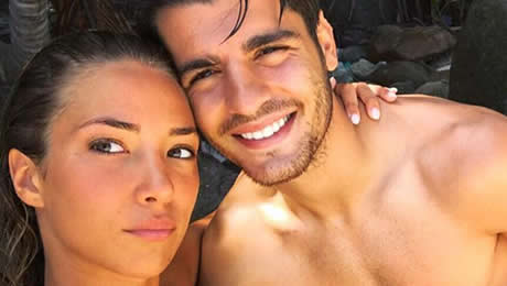 Photo: Alvaro Morata shows Man United fans what he's up to amid transfer talk