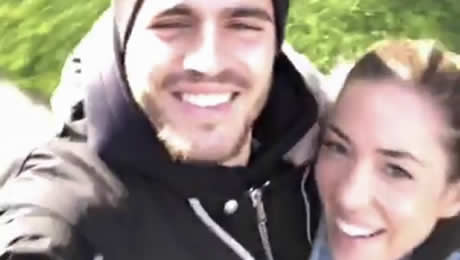Photo: Alvaro Morata unwinds with his wife after Chelsea thrashing