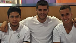 Photo: Alvaro Morata posts upbeat message amid Chelsea link