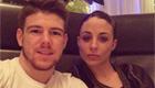Moreno celebrates four years with his girlfriend