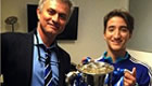 Photos: Jose Mourinho's son celebrates cup win with Chelsea players