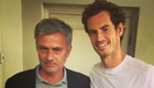 Murray catches up with Mourinho