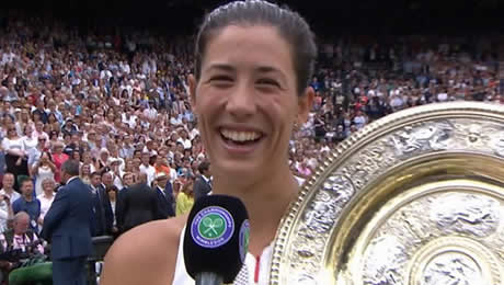 'Amazing' Garbine Muguruza powers by Venus Williams for first Wimbledon title and second Major