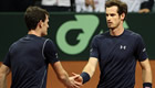 Davis Cup final: Murrays take doubles rubber to give GB lead over Belgium
