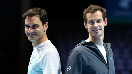 Andy Murray Live: Confident Murray returns to 'light-hearted' fray against Federer—all for charity