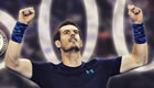 Andy Murray thanks fans after reaching career landmark