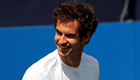 Muller beats Dimitrov to meet Murray at Queen's