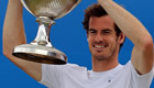 Murray wins twice to earn his fourth Queen's title