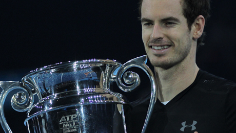 Andy Murray beats defending champ Djokovic for maiden World Tour Finals and No1 ranking
