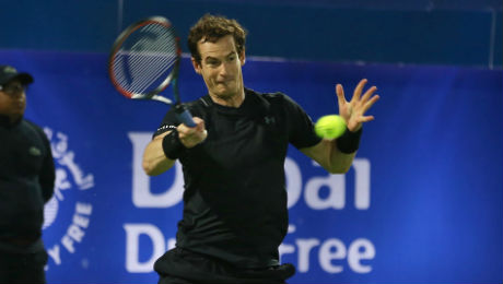 Dubai 2017: Andy Murray storms past Guillermo Garcia-Lopez into quarter-finals