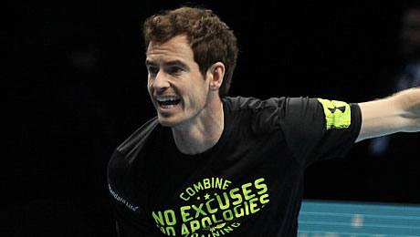 ATP World Tour Finals: Andy Murray wins record-breaking thriller over Milos Raonic to keep No1 race alive