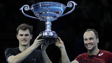 ATP World Tour Finals 2016: No1 team Jamie Murray and Bruno Soares miss out on London final