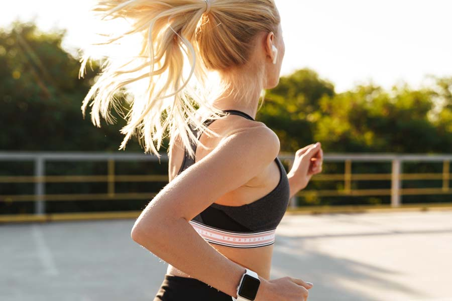 Music and Headphones While Running