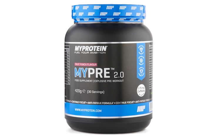 Mypre 2.0 Myprotein