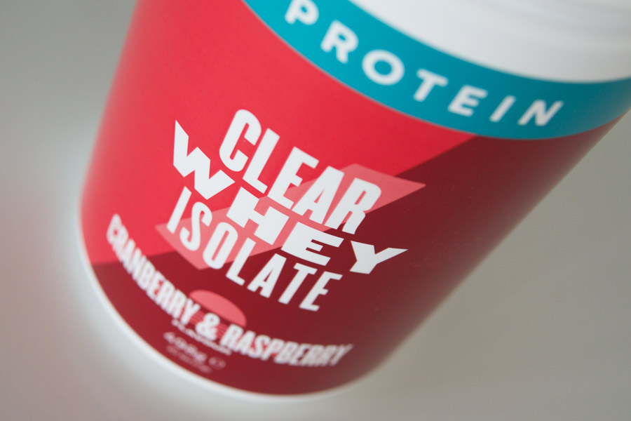 Myprotein Clear Whey Isolate Protein (Photo: The Sport Review)