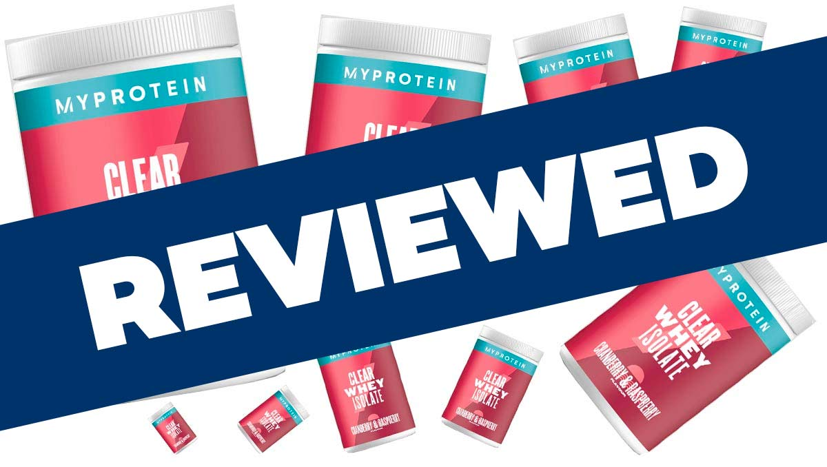 Myprotein Clear Whey Isolate Protein Review