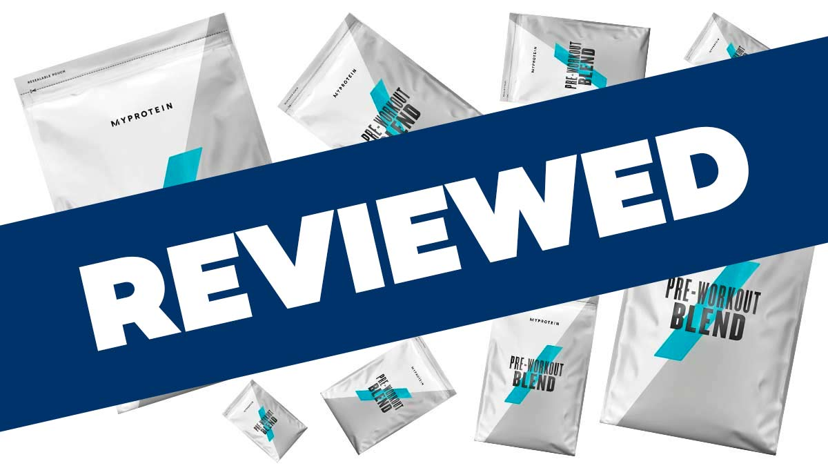 Myprotein Pre-Workout Blend Review