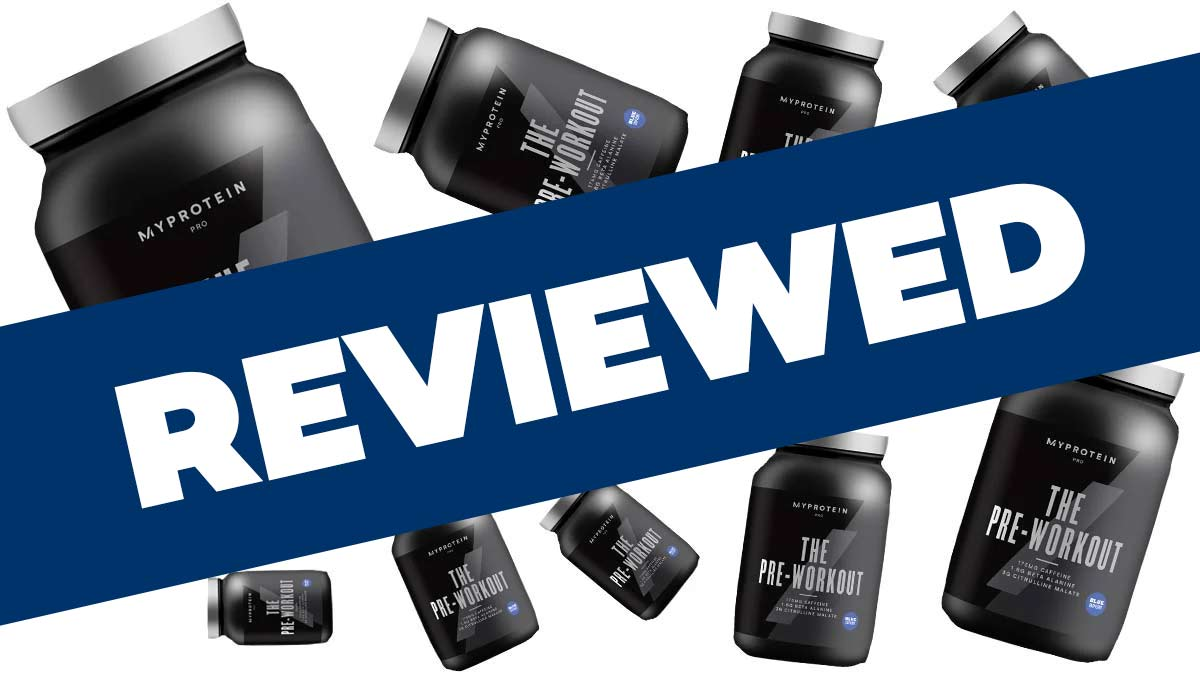 Myprotein The Pre Workout Review