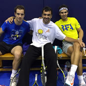 Nadal is 'training hard' with Gasquet