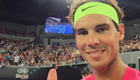 Nadal all smiles after Fast4 matches