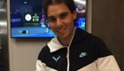 Signed and used Nadal T-shirt up for auction